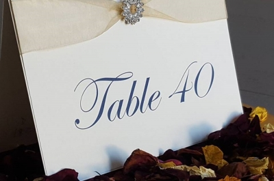 Bespoke Table Numbers