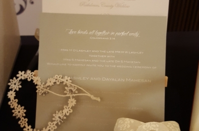 Bespoke Wedding Stationery 2