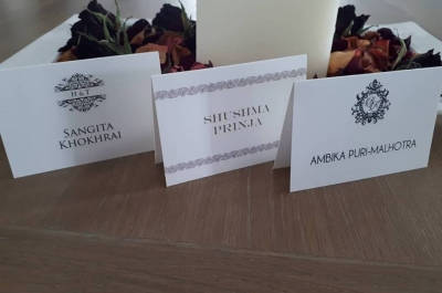 Place cards with your logo