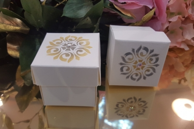 Hand Finished Favour boxes Pure C